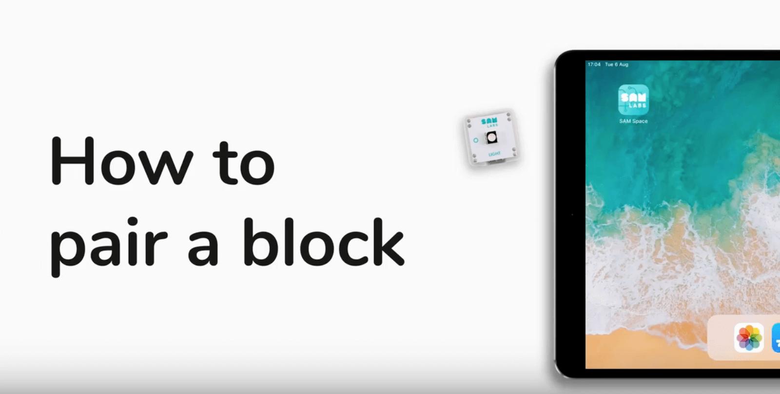 Pair a Block