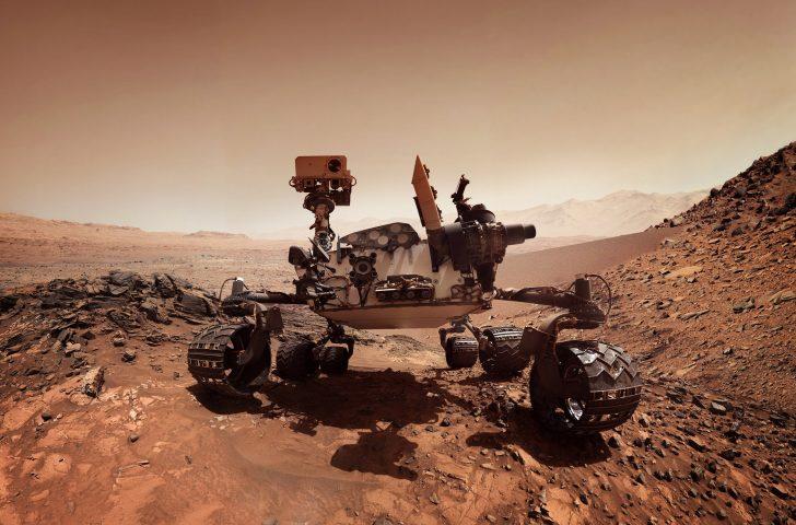 3. Mars Rover