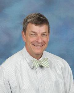 Mike Jennings of Thomas Harrison Middle School
